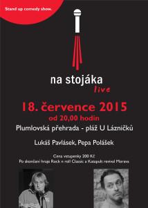 NA STOJÁKA s koncertem @ Prostějov, Pláž U Lázničků | Brno | Jihomoravský kraj | Česká republika