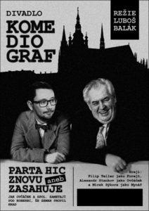 PARTA HIC ZNOVU ZASAHUJE @ Divadlo Dobeška | Česko