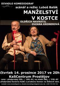 Manželství v kostce @ Divadlo Bolka Polívky | Jihomoravský kraj | Česko